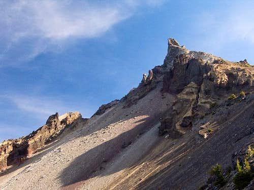 Mount Thielsen, morning