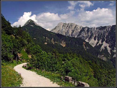 Kosutica in Veliki vrh