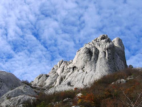 Bojin Kuk from the Milovac route