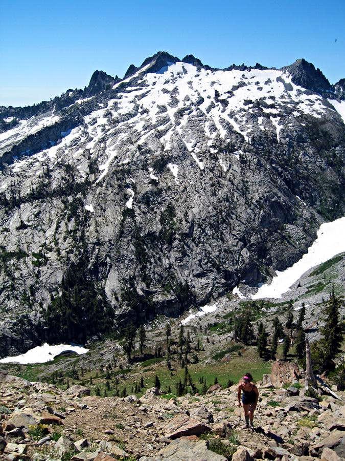 Gibson Peak from Seven Up Peak Ridge