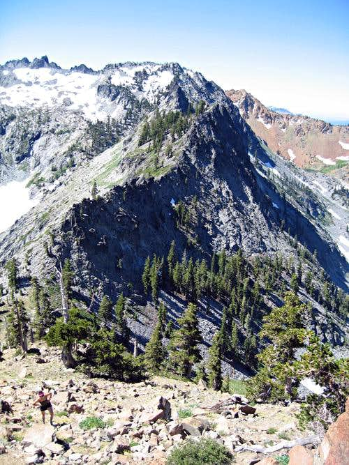 Dolomite Ridge, Gibson Peak