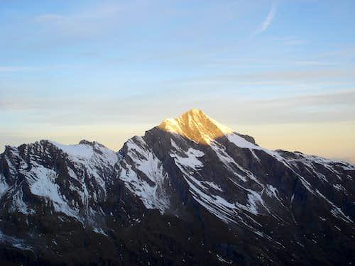 Kitzsteinhorn(3203m) in morning light