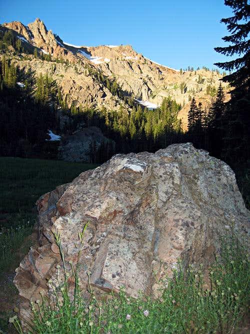 Seven Up Peak from Bear Basin
