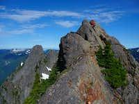 East Garfield summit ridge