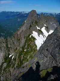 Main peak from East Garfield