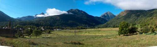 Panorama to the Vallée d'Aure near <a href=