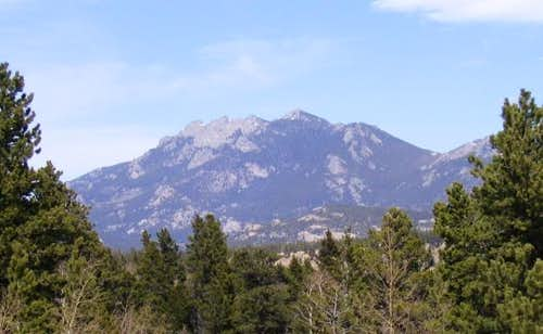 Twin Sisters seen from the...