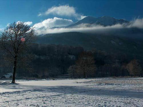 Panorama to the Vallée d'Aure near Saint Lary