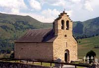The church in Ens near <a href= http://www.summitpost.org/logistical-center/458596/saint-lary.html >Saint Lary</a>