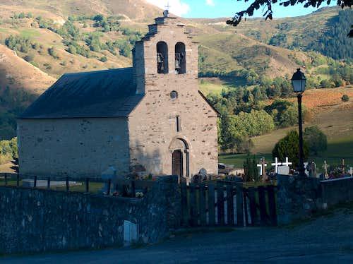 The church in Ens near <a href=