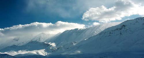 Dou berar mountains