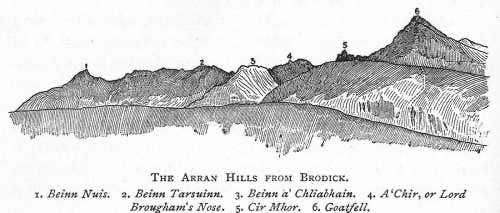 Arran Hills from Brodick