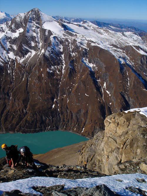 Reaching Kempsenkogel 3090m
