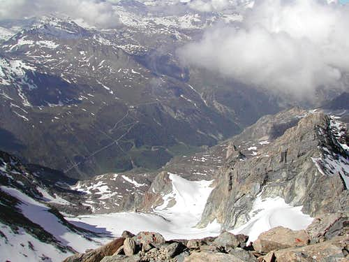 View to Val d'Isere