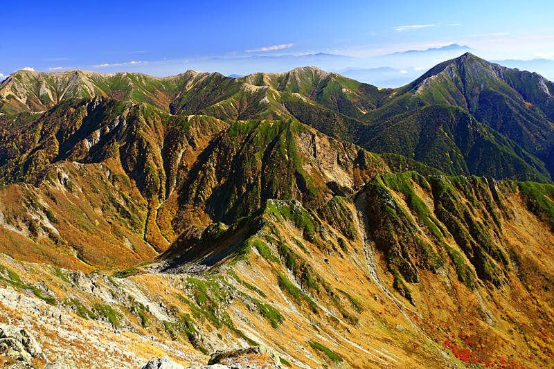 Fall in Japanese Alps