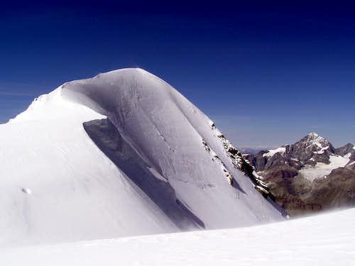 Breithorn western summit