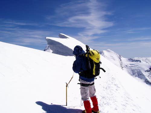 Breithorn central summit