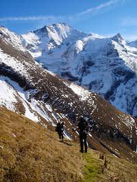 On Max Kirch Weg,descent from Kempsenkogel