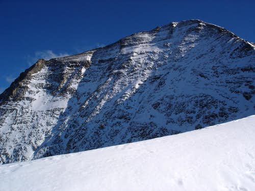 Wiesbachhorn (3564m) seen from Kaindlgrat