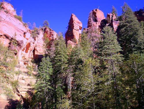 Coconino Crags