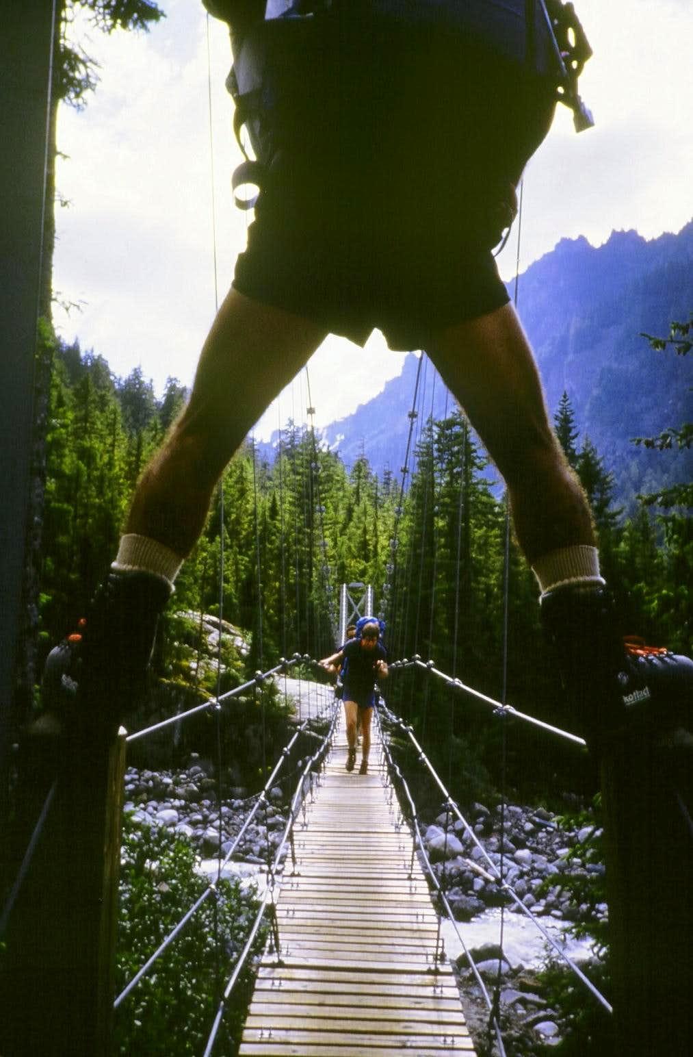 Crossing bridges can be FUN!