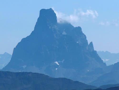 Ossau from Pic d'Aspe