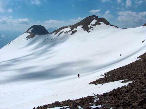 The glacier of the Vignemale