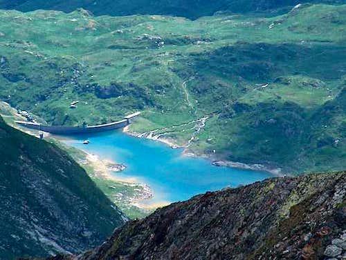 Oussoue lake