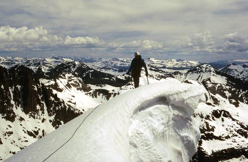 Big Cornice  - Windom Peak North Ridge