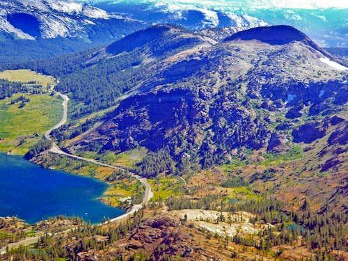 Tioga Pass and Gaylor Peak