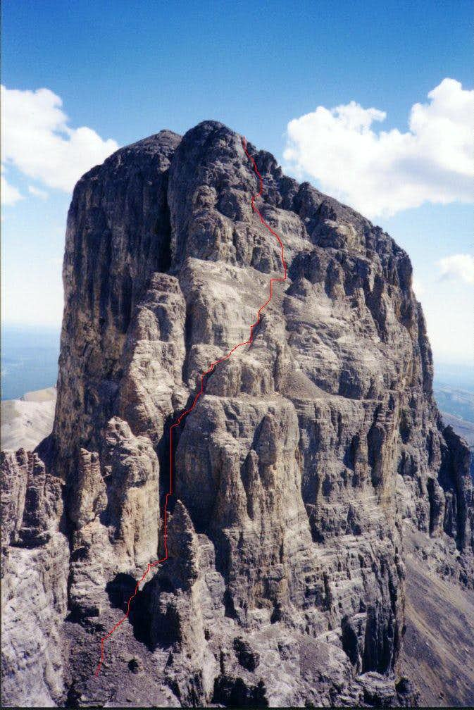Devil's Head - main summit route