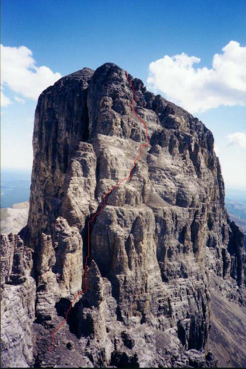 Devil s Head - main summit route