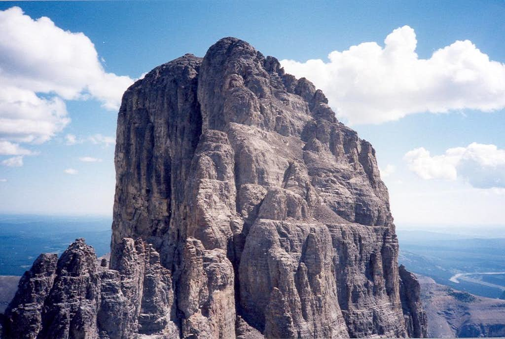 Devil's Head main summit from West Summit