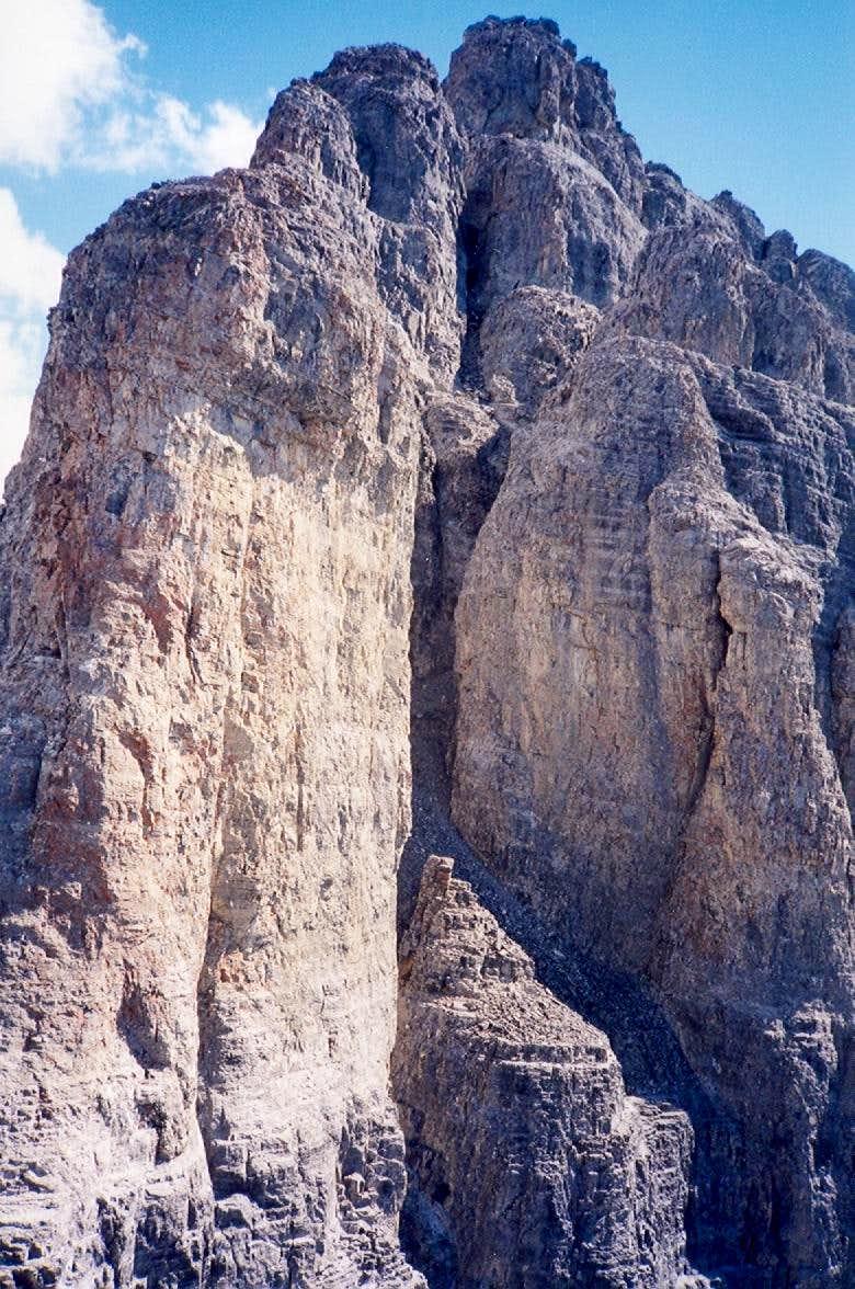 Devil's Head- main summit from Saddle