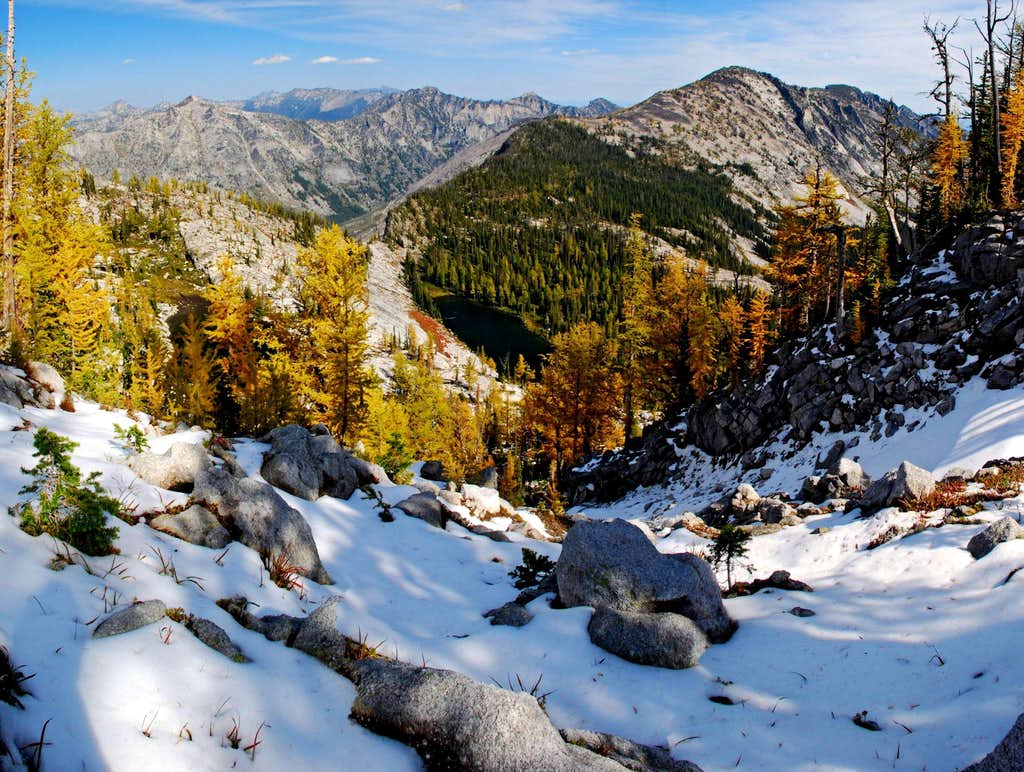 West Sheafman Peak