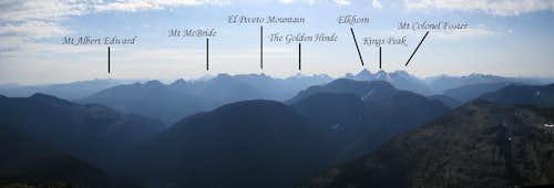 Crown Mountain Strathcona Panorama