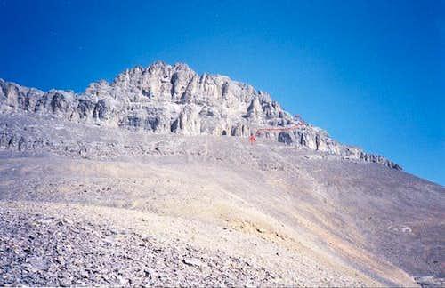 Devil's Head approaching West Ridge