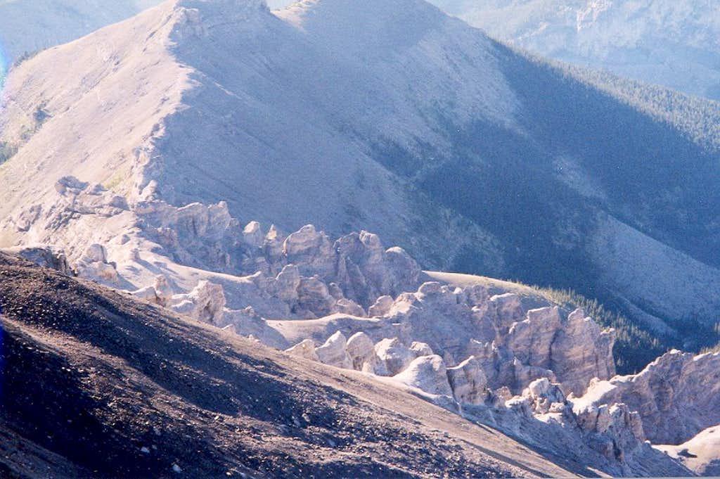 Devil's Head - SE approach ridge.
