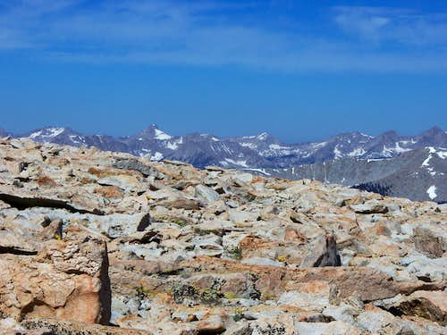 View of Southern Sierras from New Army Pass