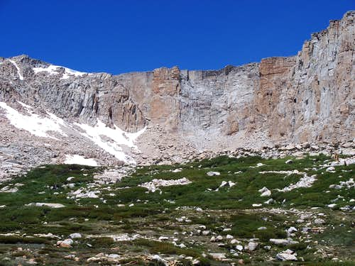 Cirque Peak viewed from High Lake