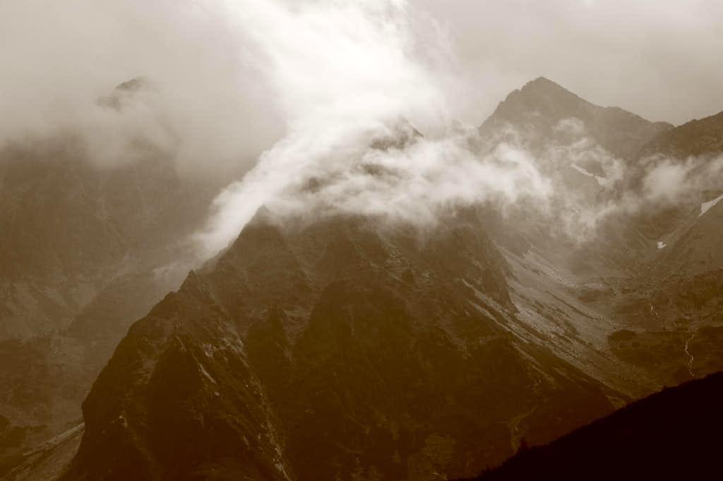 Stormy day in Tatras