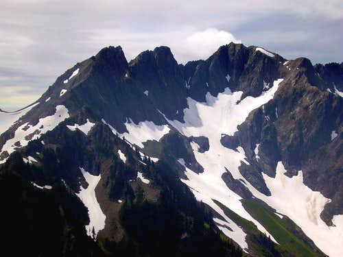 North Face of Mt Skokomish