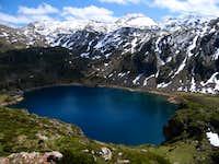 Peña Calabazosa and Calabazosa lake