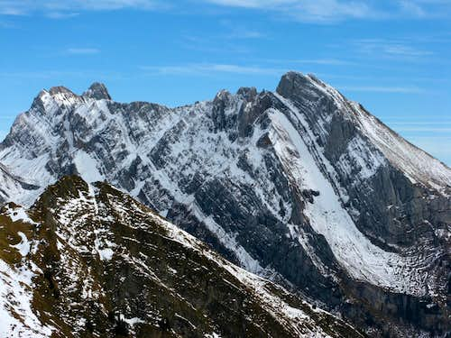 Altmann 2436m (left) and Wildhuser Schafberg 2373m (right)