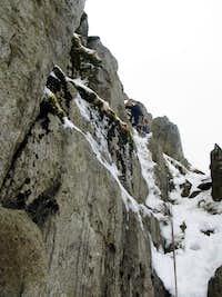 Main wall of Glyder Fach