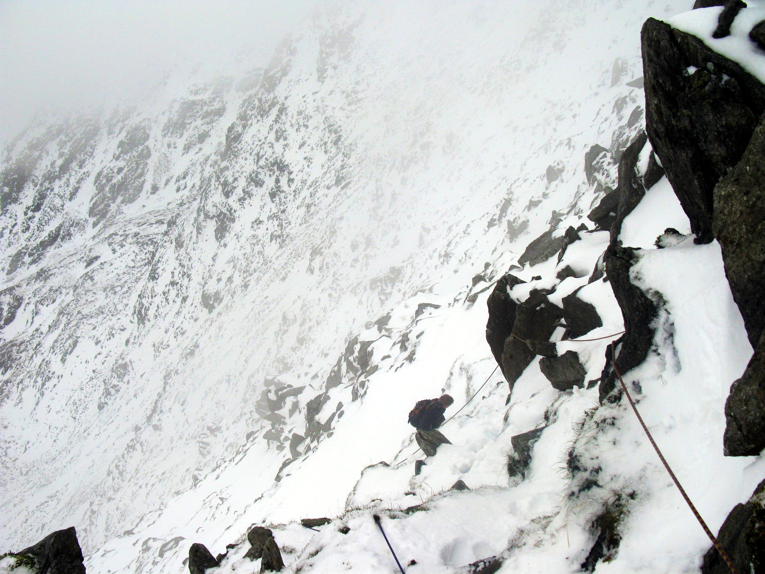 The North Face of Glyder Fach