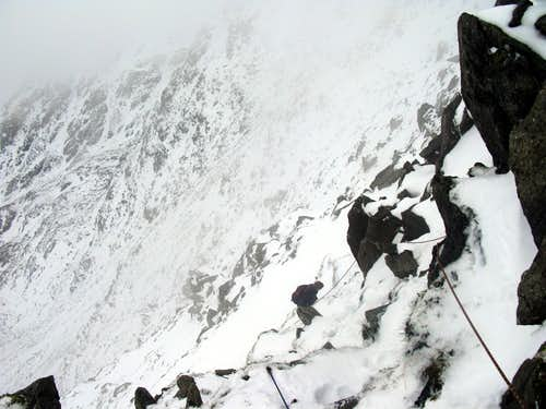 North face of Glyder Fach