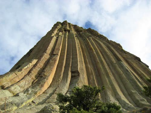 Devils Tower Wyo. Oct 18th