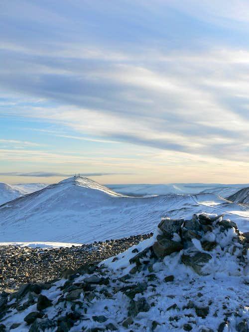 Cairnwell Hills November 08