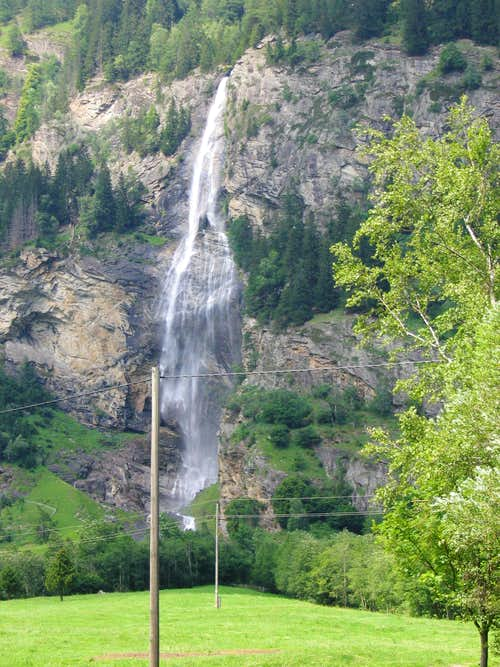 The Fallbach Waterfall